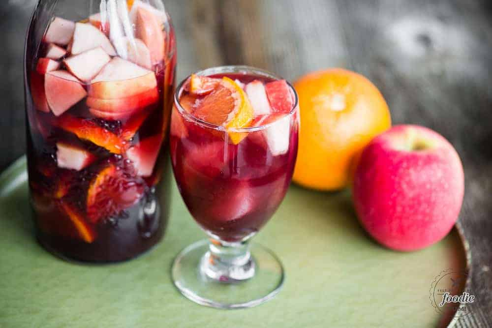 Sparkling red sangria recipe self proclaimed foodie thecheapjerseys Choice Image