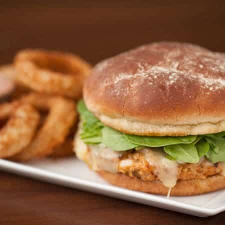 Spicy Southwestern Turkey Burgers