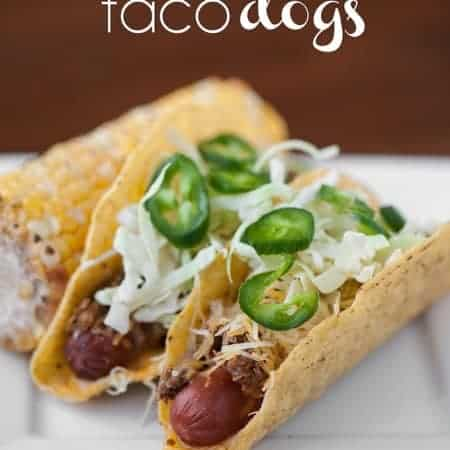 Take your hot dog and your taco to a whole new level with these Spicy Taco Dogs. You won't believe how delicious this outdoor grilling dinner mashup is!