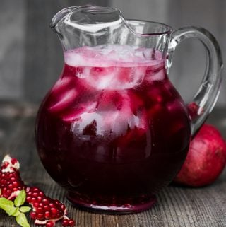 Pomegranate Vodka Punch