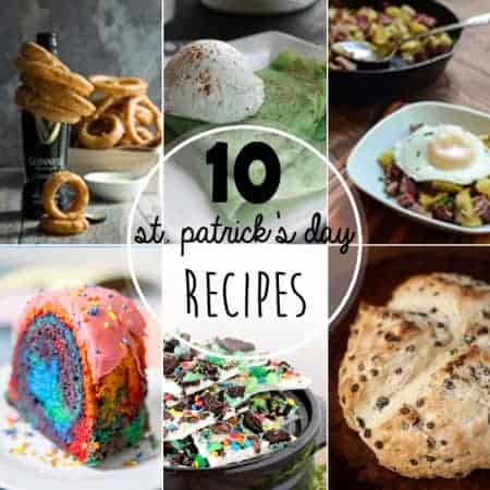 From dark beer to green food, get your Irish on and make some of these 10 Best St. Patrick's Day Recipes.