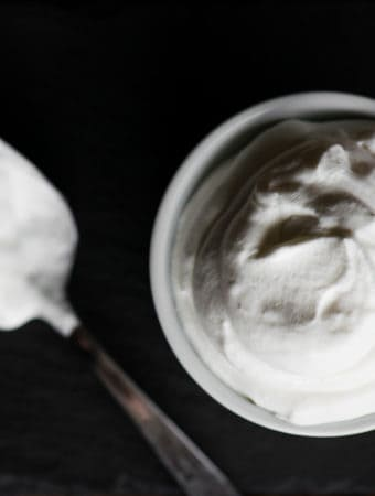 Recipe for Stabilized Whipped Cream