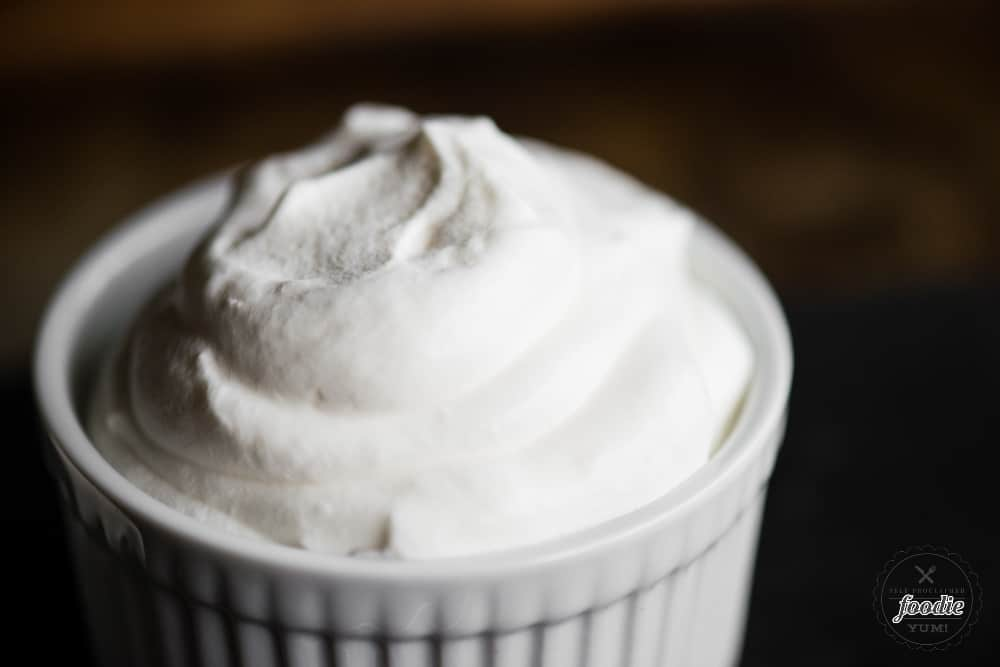 easy Stabilized Whipped Cream
