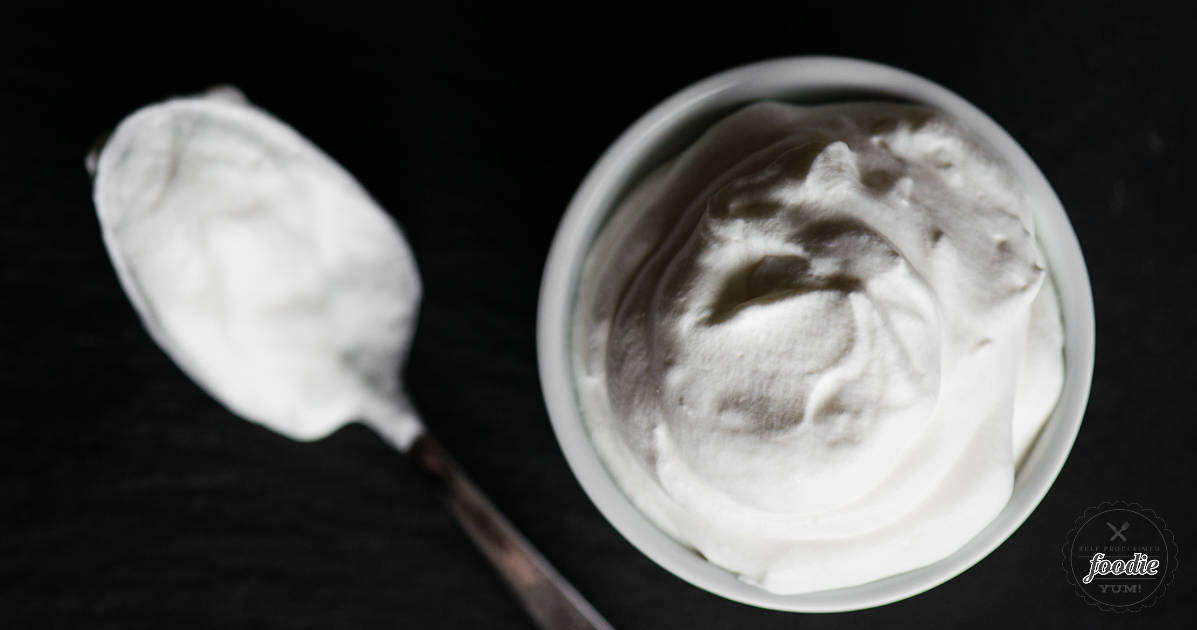 Stabilized Whipped Cream | Self Proclaimed Foodie
