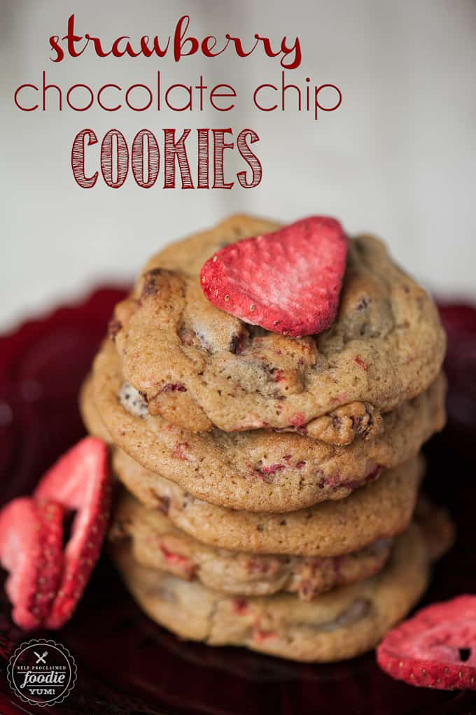 how to make chocolate chip cookies with strawberries