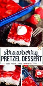 the best strawberry pretzel dessert recipe