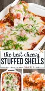 the best cheesy stuffed shells