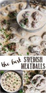recipe for the best swedish meatballs