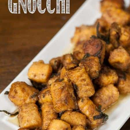 Chances are you've eaten gnocchi before, but this homemade whole wheat Sweet Potato Gnocchi is a healthier version perfect for fall.