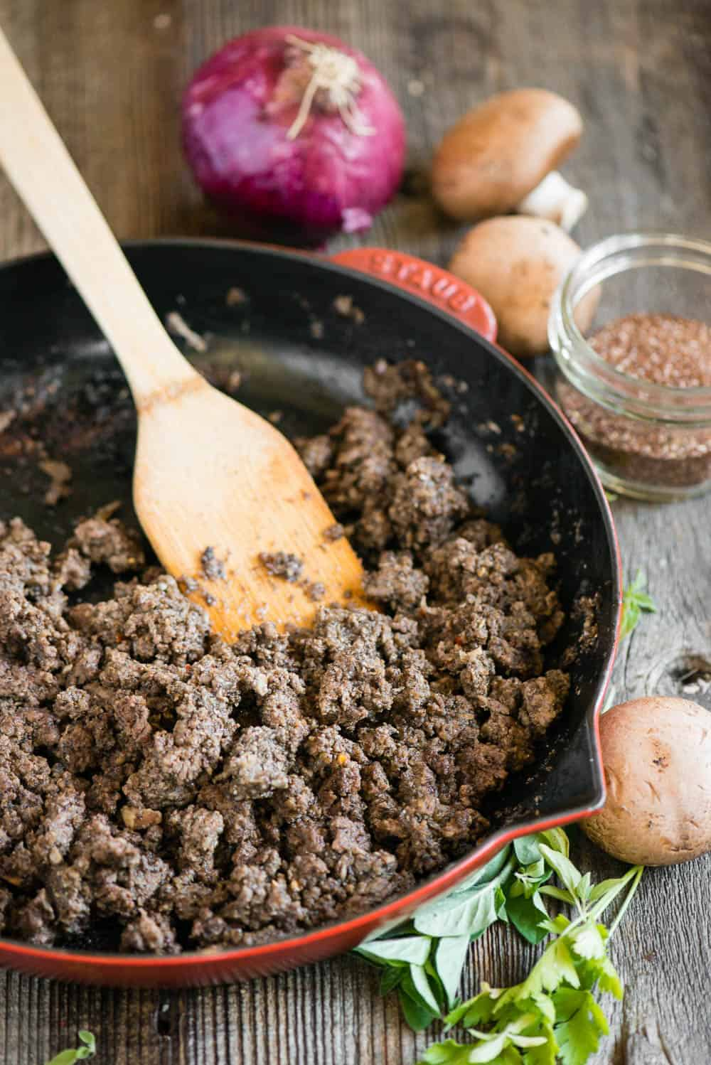 the best Taco Meat Recipe with a secret healthy ingredient