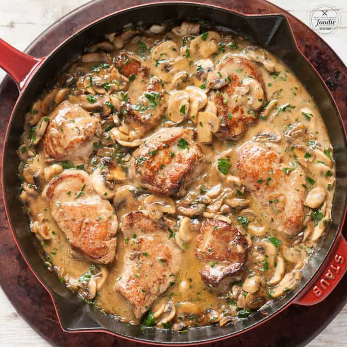 How to make Pork Marsala with pork tenderloin