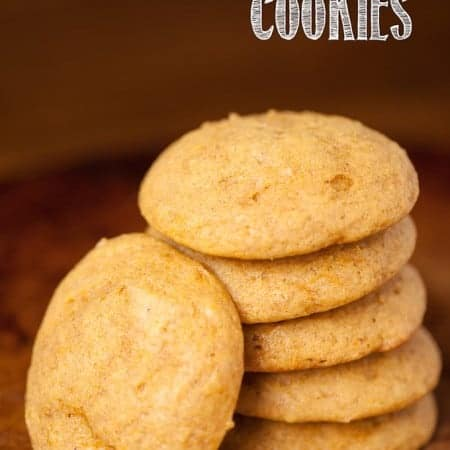 Having grown up loving Charlie Brown, I was inspired by the new Peanuts Movie to make The Great Pumpkin Cookies. They are super soft and easy to make!