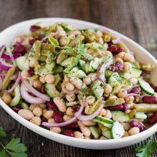 how to make the best Three Bean Salad