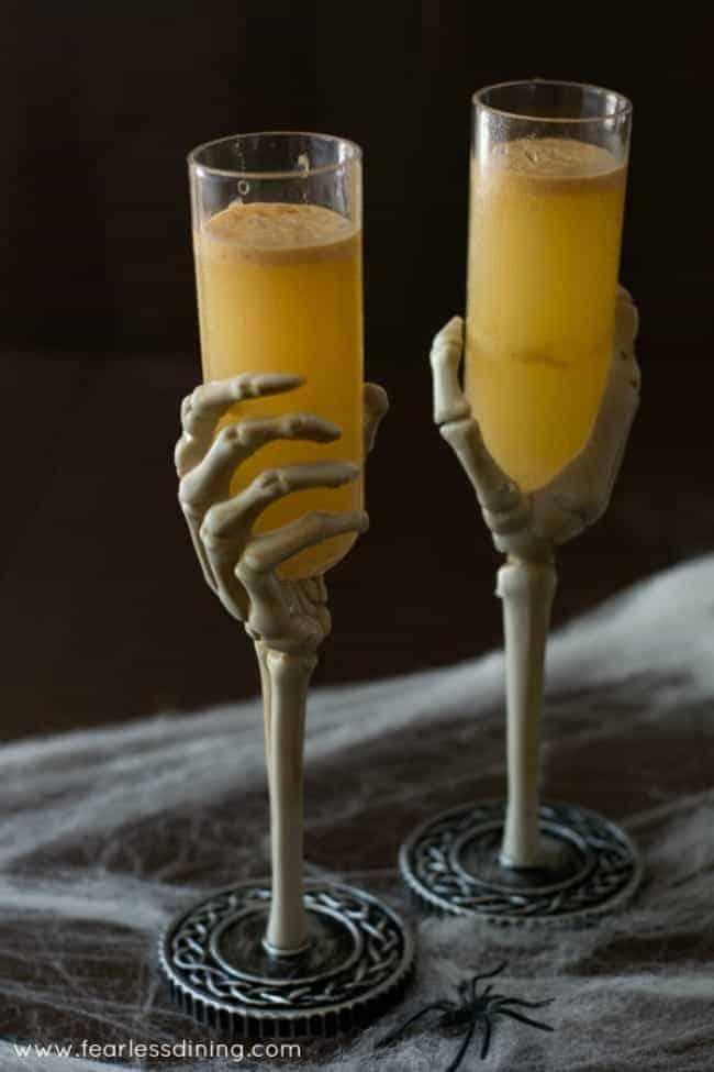 Pumpkin Caramel Hard Cider Cocktail