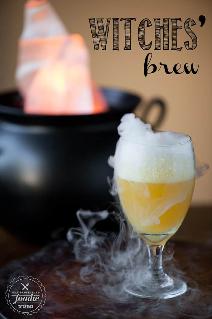witches brew is a great halloween mocktail perfect halloween drink for kids - Great Halloween Drinks
