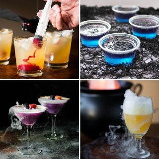 Halloween Drinks make every Halloween party an event to remember! From Halloween alcoholic drinks for adults to Halloween mocktails, enjoy these 10 recipes!