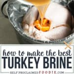 how to make the best turkey brine