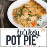 homemade Turkey Pot Pie recipe