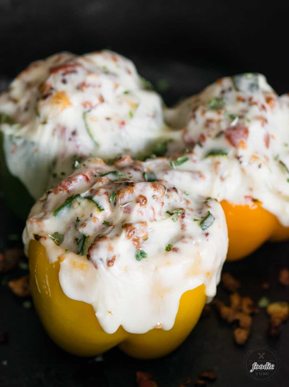 healthy turkey stuffed pepper recipe