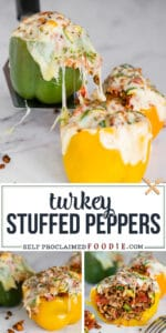 turkey stuffed peppers recipe