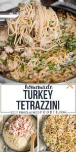 homemade Turkey Tetrazzini