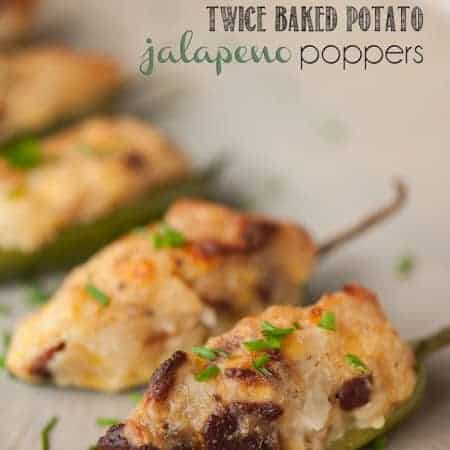 These spicy Twice Baked Potato Jalapeno Poppers are packed with spicy flavor, crisp bacon, and melty cheese. They're the perfect game day appetizer.
