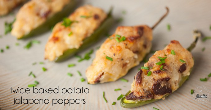 Twice Baked Potato Jalapeno Poppers | Self Proclaimed Foodie