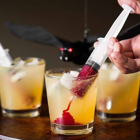 Halloween Vampire Cocktail