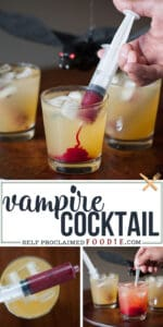 how to make a halloween vampire cocktail