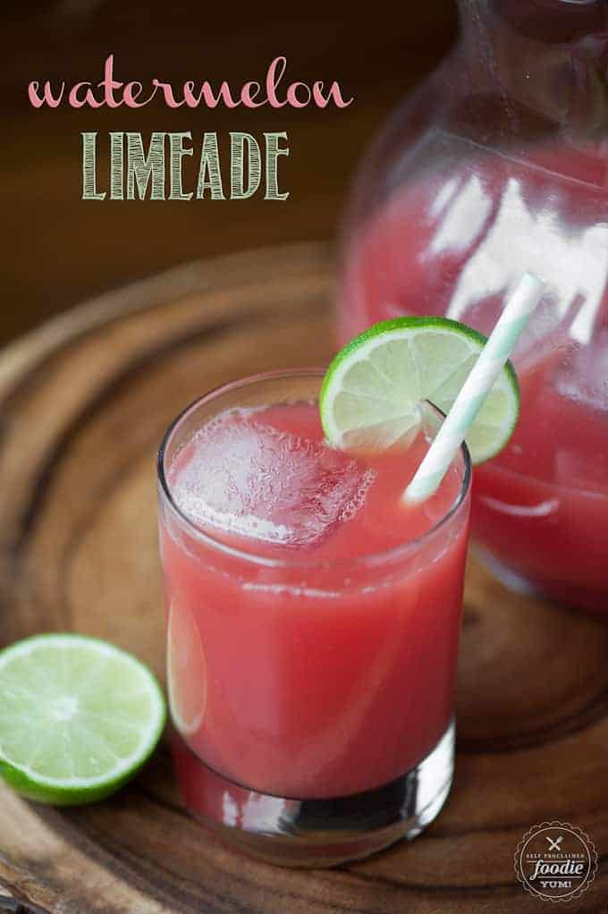 Watermelon Limeade is a refreshing and tasty summer drink made from fresh watermelon and limes, perfect for all ages on a hot summer day.