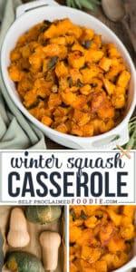 winter Squash Casserole recipe