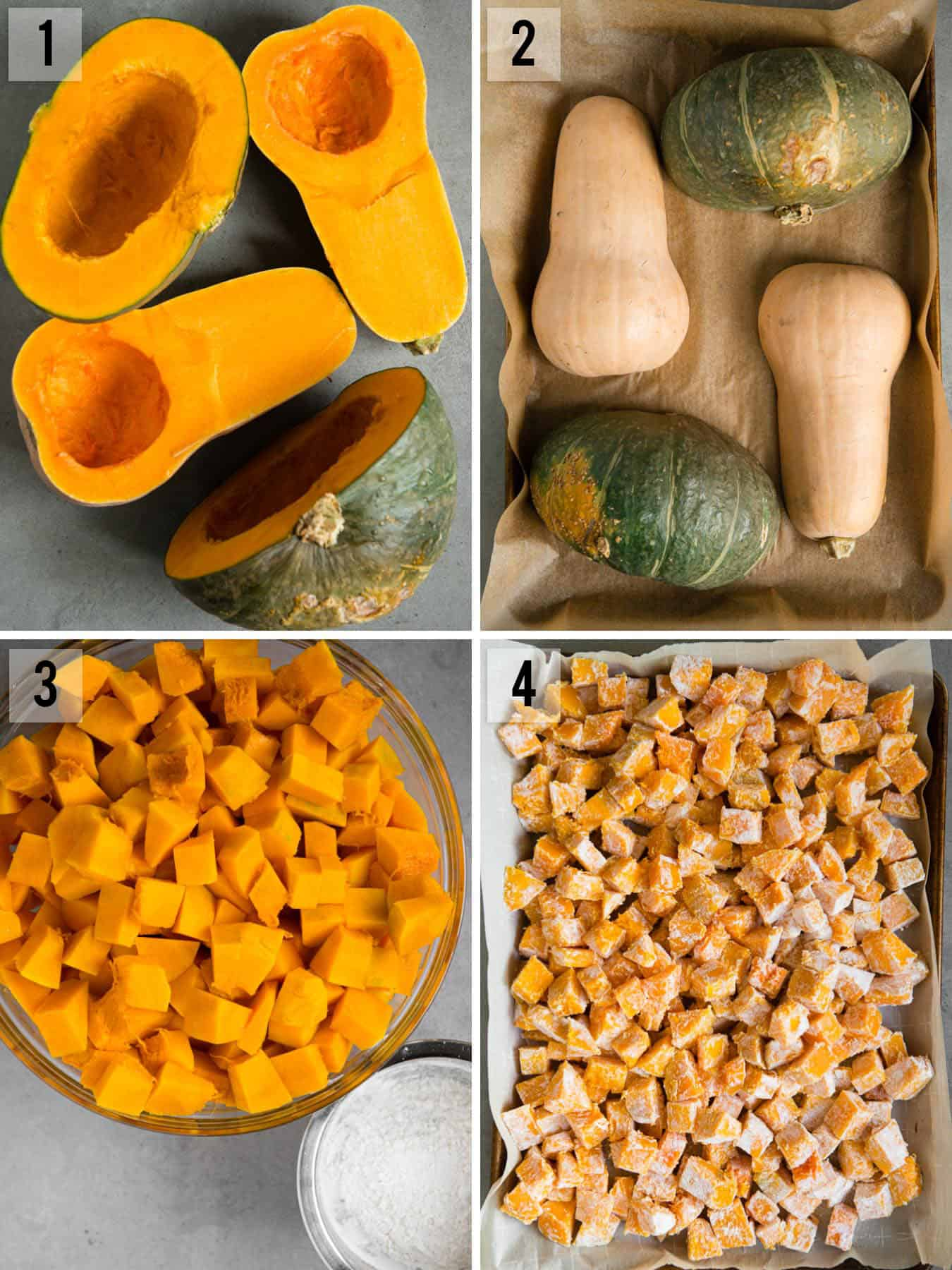 step by step photos of how to make winter Squash Casserole