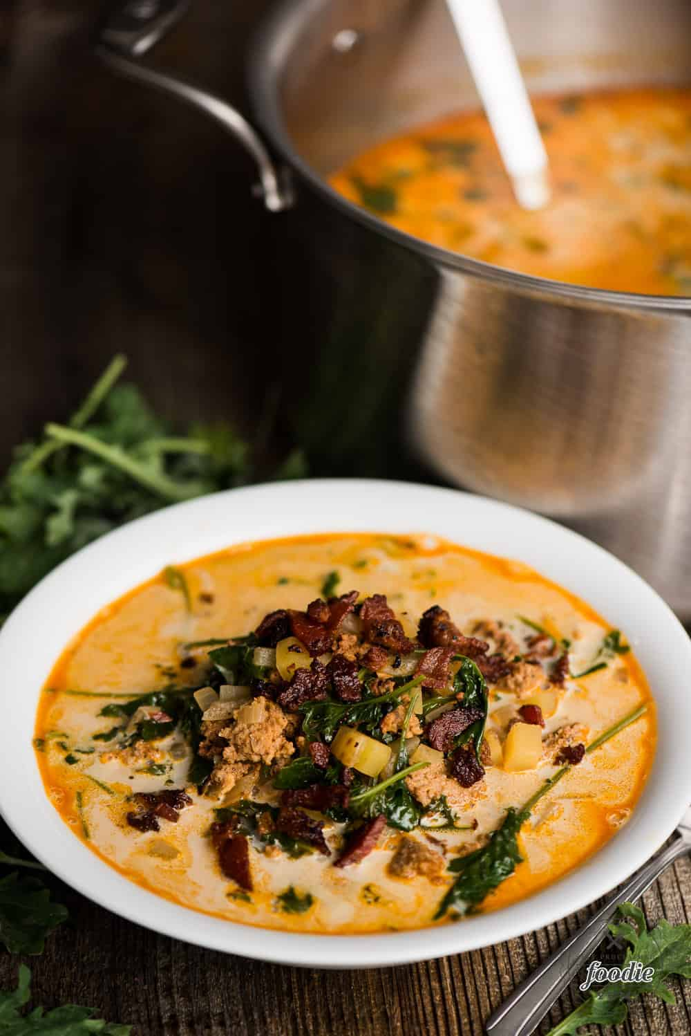 Zuppa Toscana One Pot Olive Garden Soup Self Proclaimed Foodie